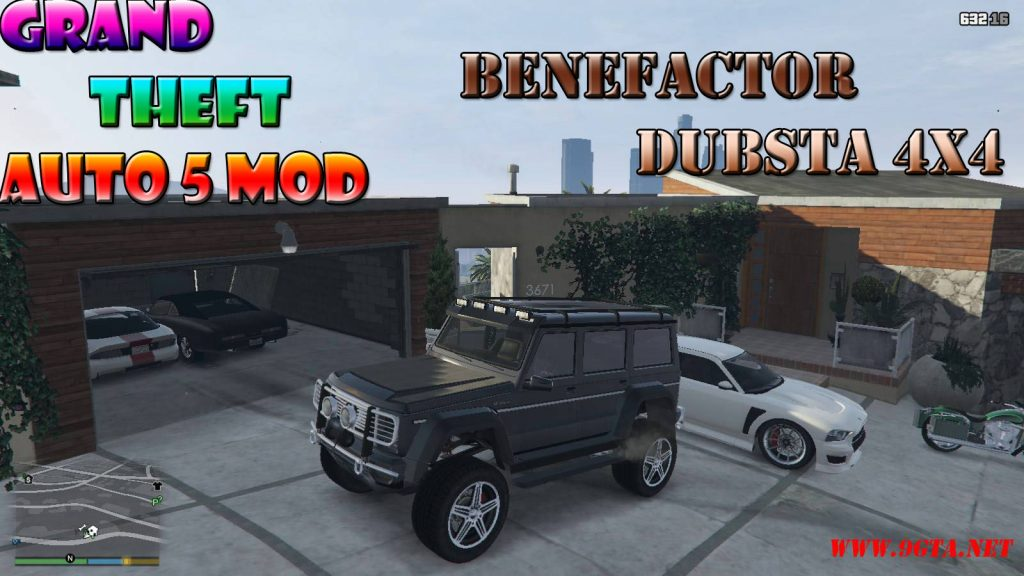 Benefactor Dubsta 4×4 Mod For GTA5