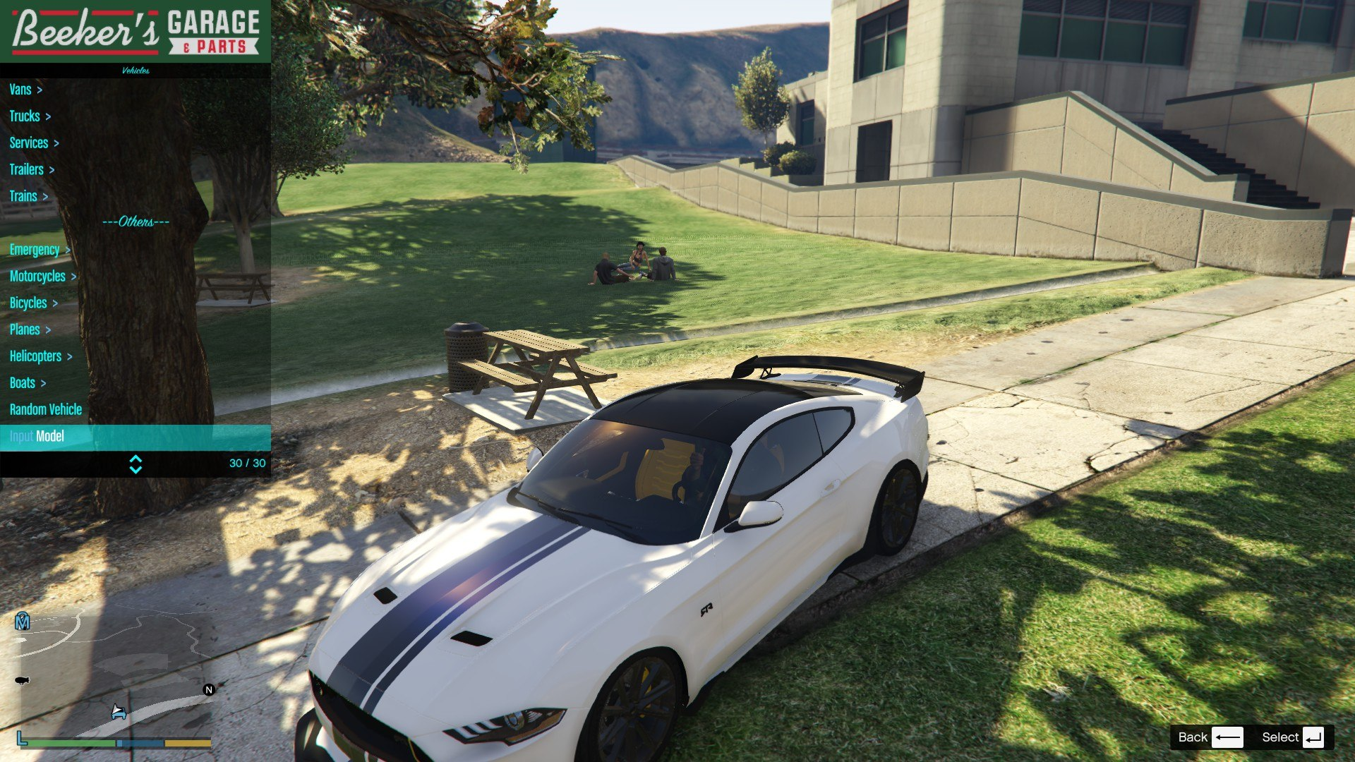 2019 Ford Mustang GTA5 Mods 04