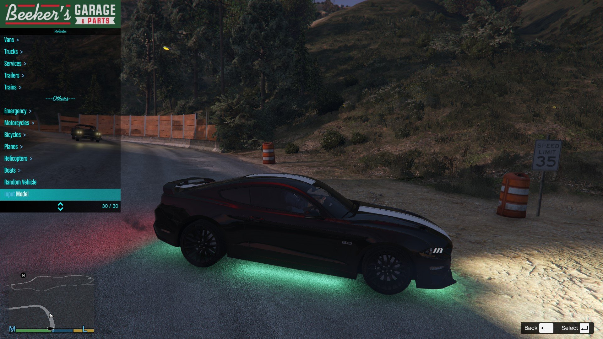 2019 Ford Mustang GTA5 Mods 08