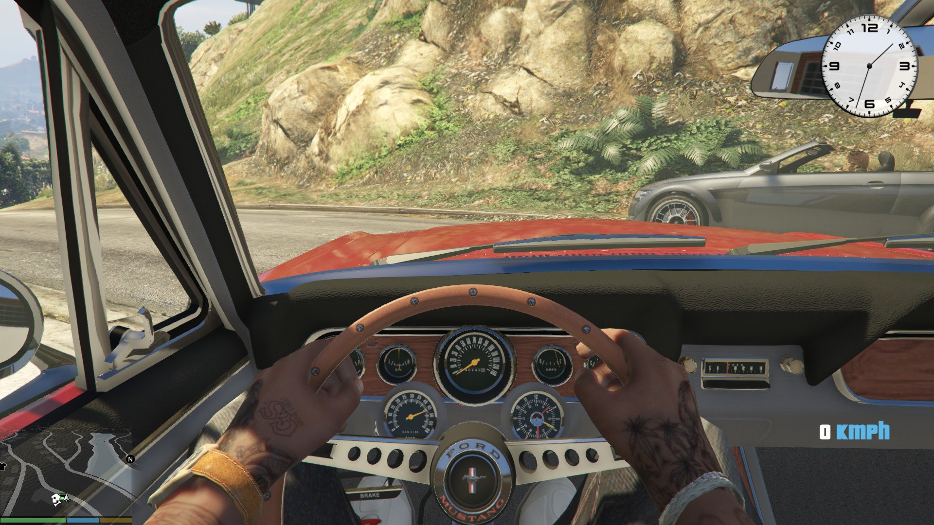 1966 Ford Mustang Fastback GTA5 Mods (5)