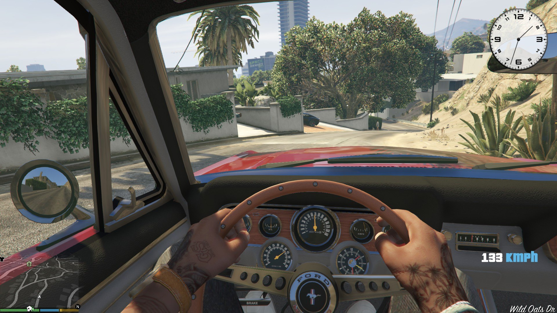 1966 Ford Mustang Fastback GTA5 Mods (6)