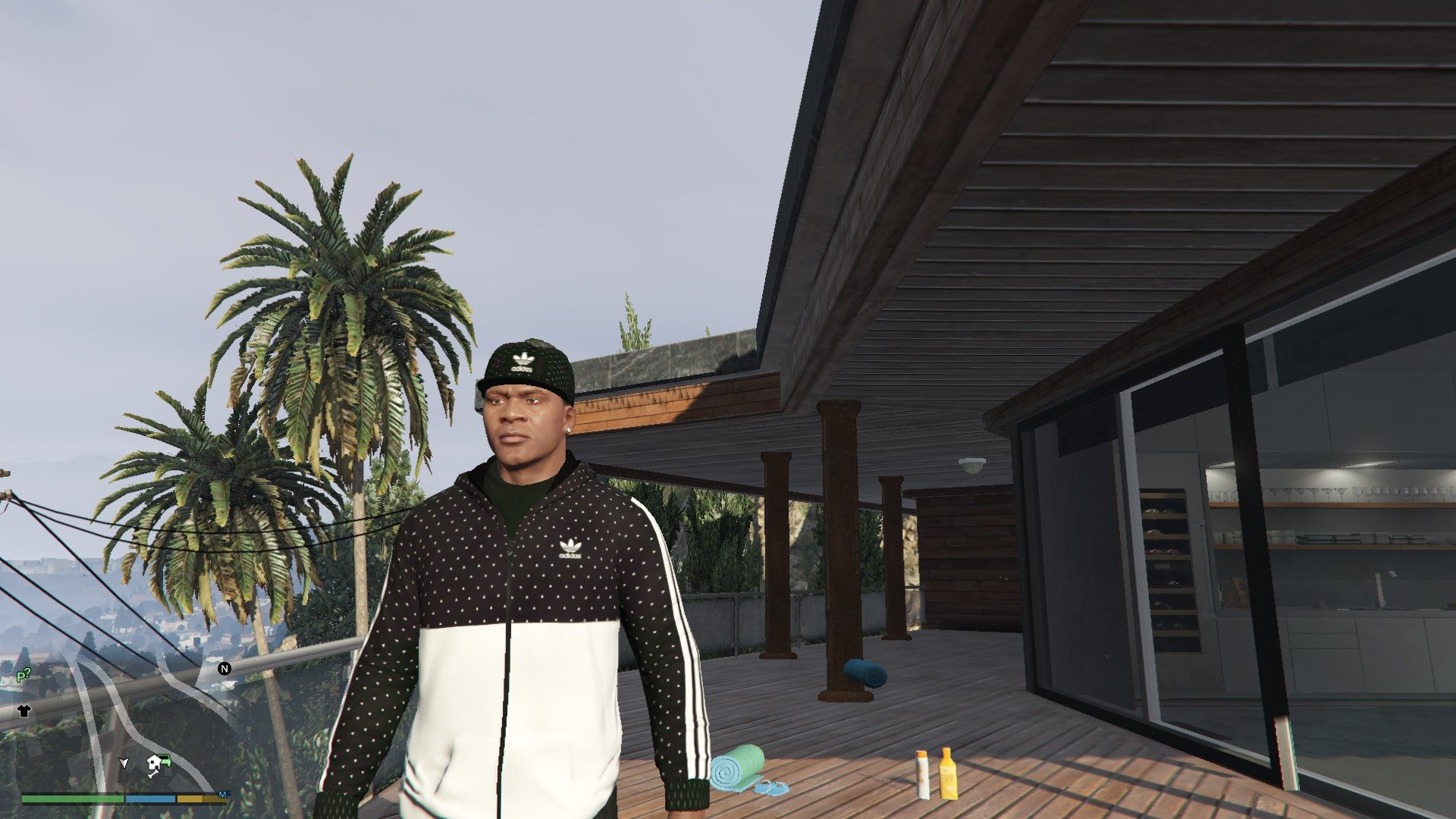Addidas OutFit For Franklin GTA5 Mods (6)