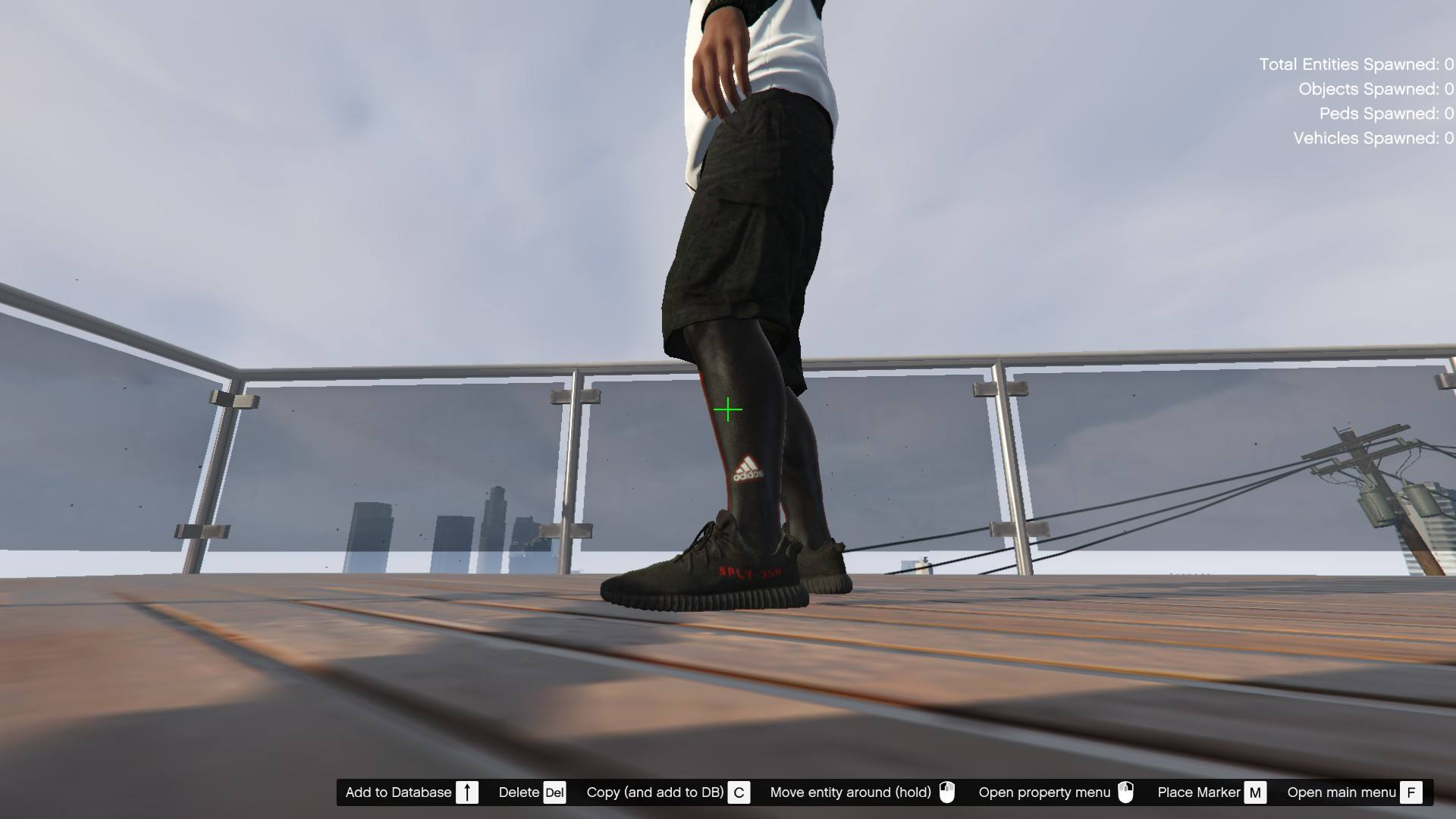 Addidas OutFit For Franklin GTA5 Mods (7)