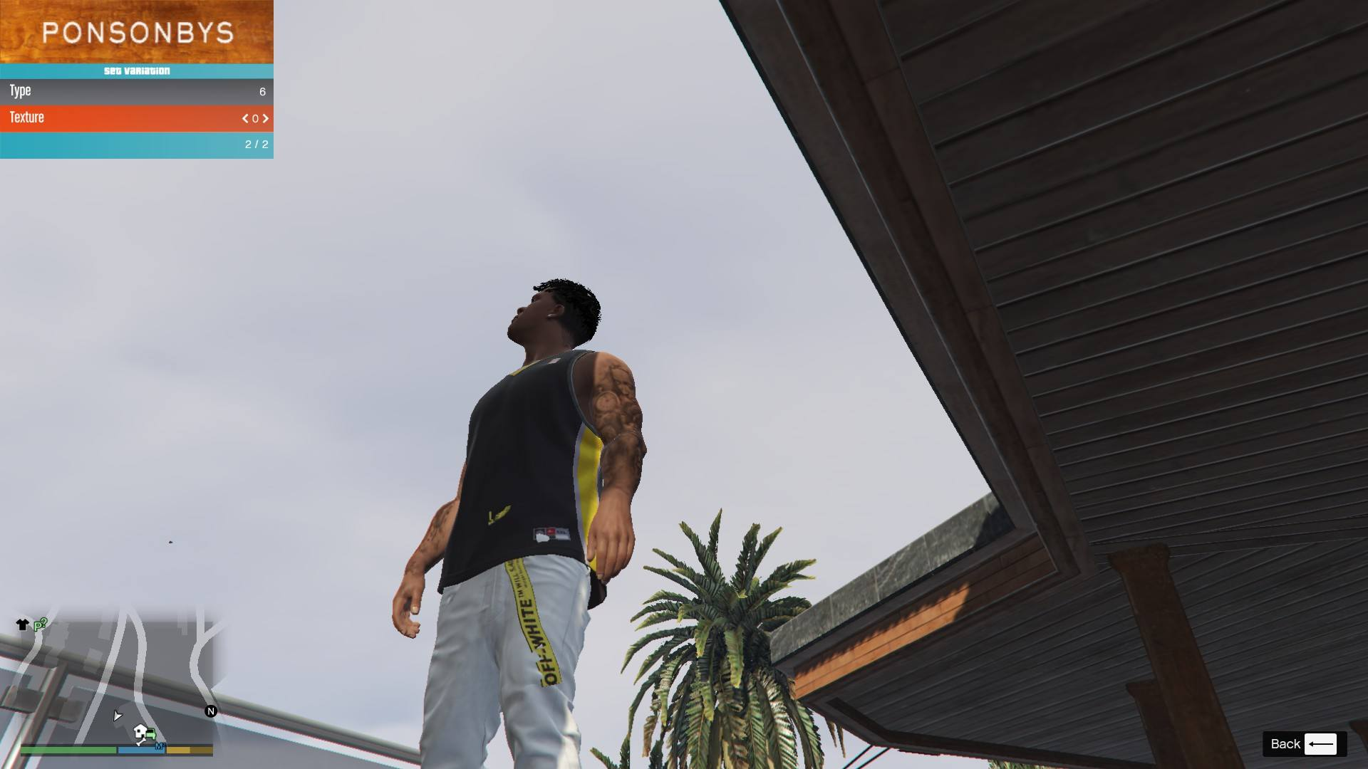 Off-White BELT for Franklin GTA5 Mods (1)