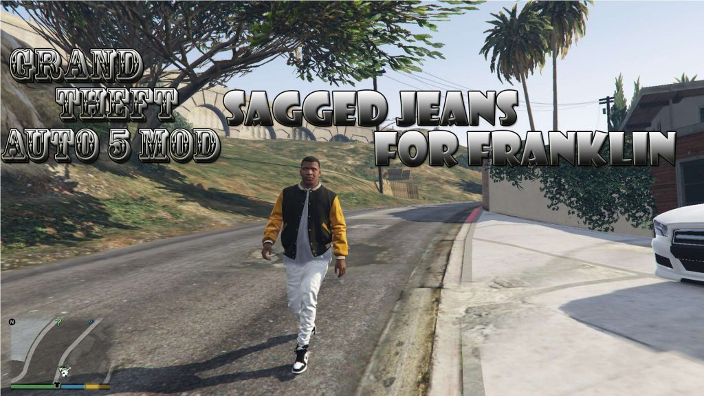 Sagged Jeans On Franklin Mod For GTA 5