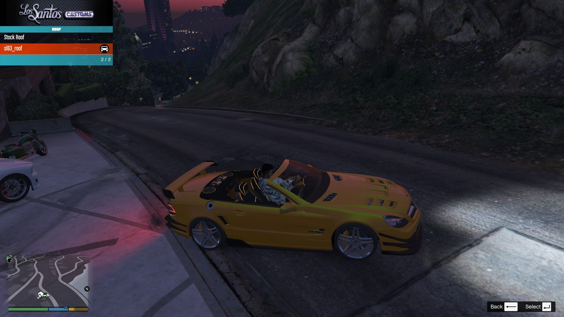 Mercedes Benz SL63AMG GTA5 Mods (5)