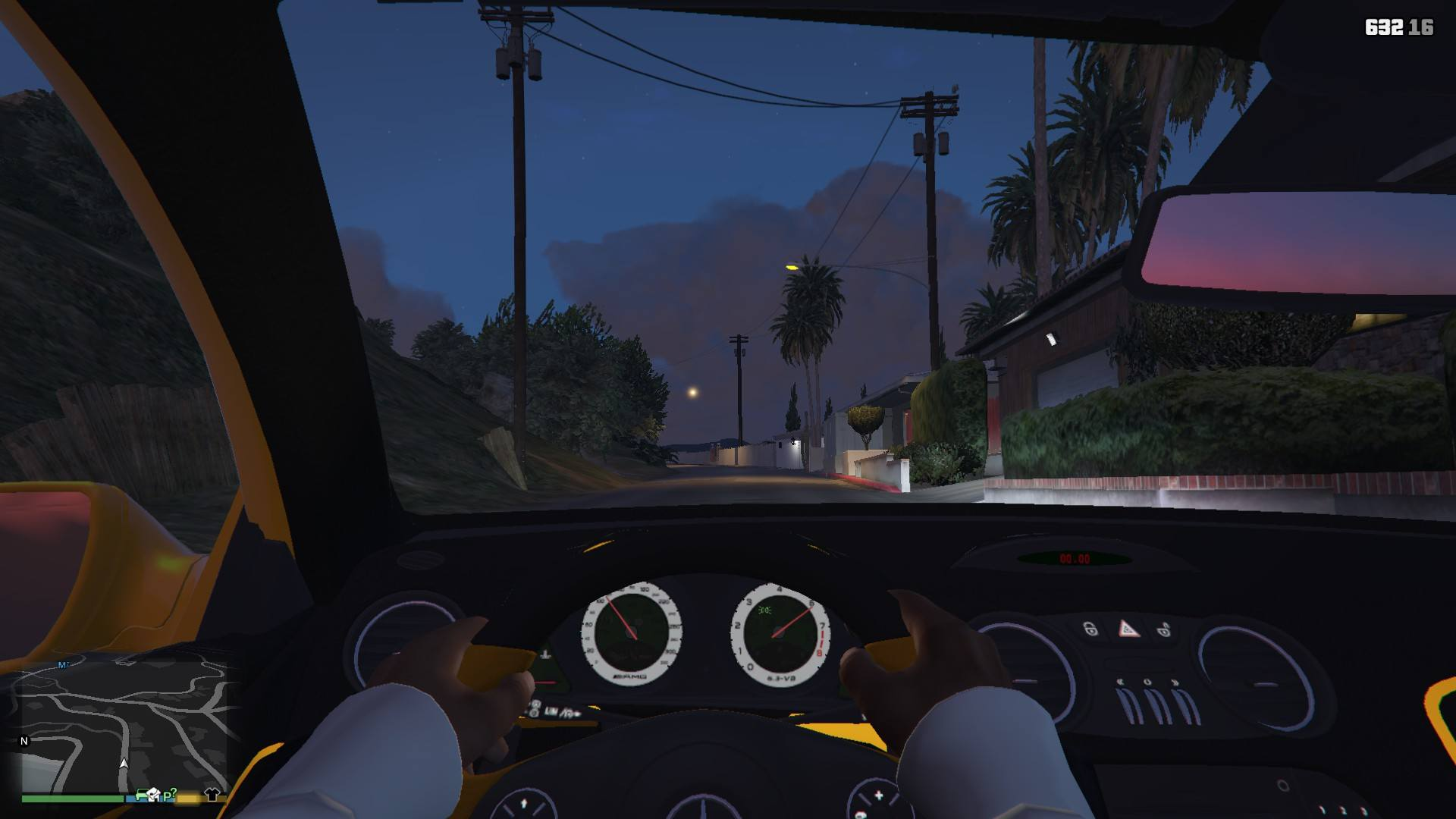 Mercedes Benz SL63AMG GTA5 Mods (8)