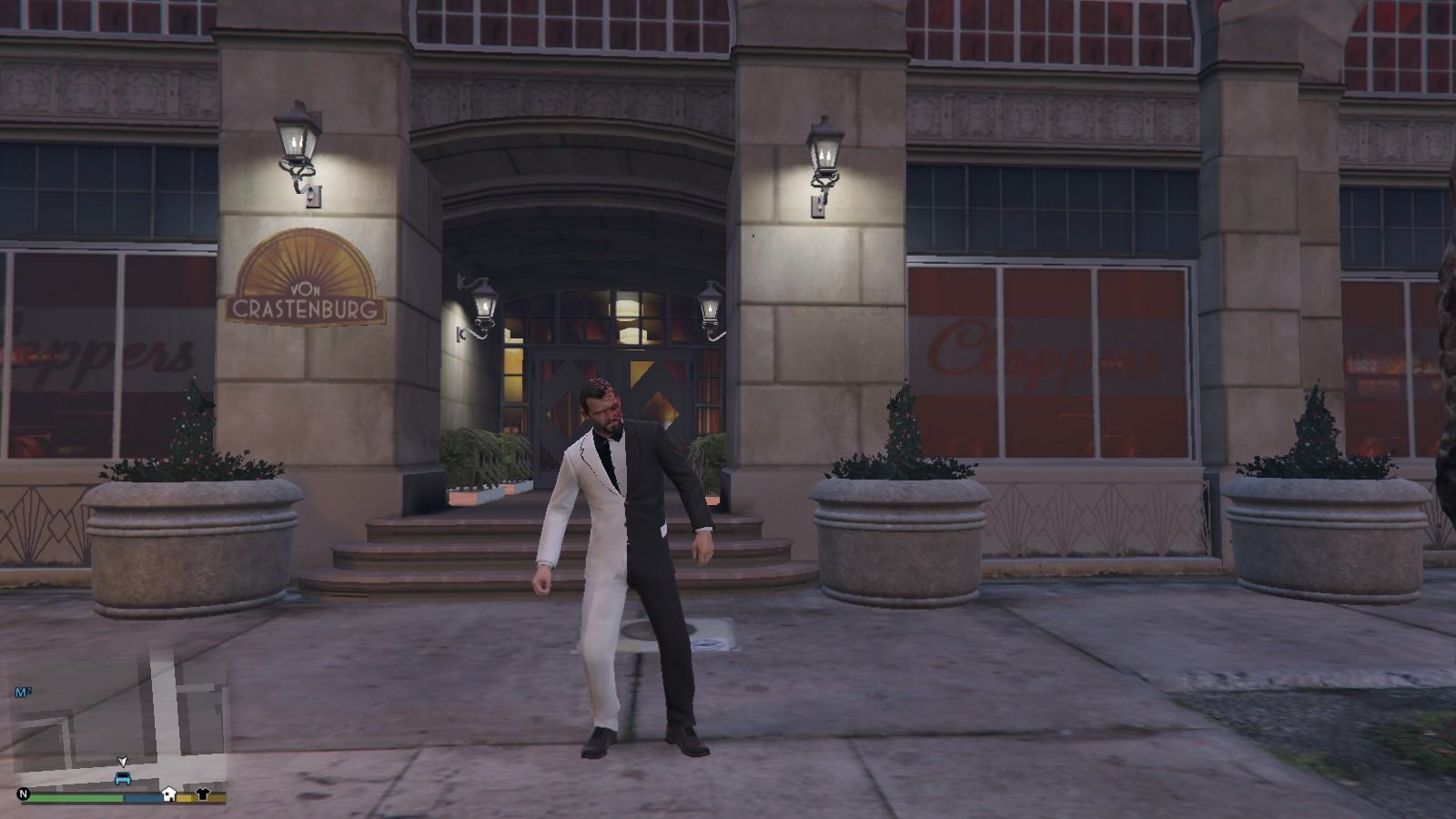 Two-face Michael GTA5 Mods (1)