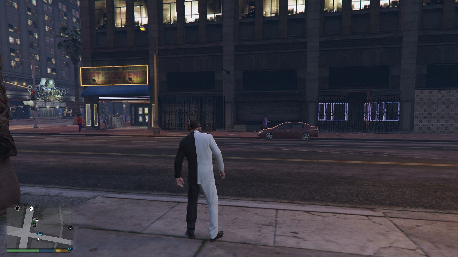 Two-face Michael GTA5 Mods (2)