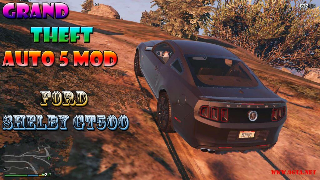 Ford Shelby GT500 v1.0 Mod For GTA5