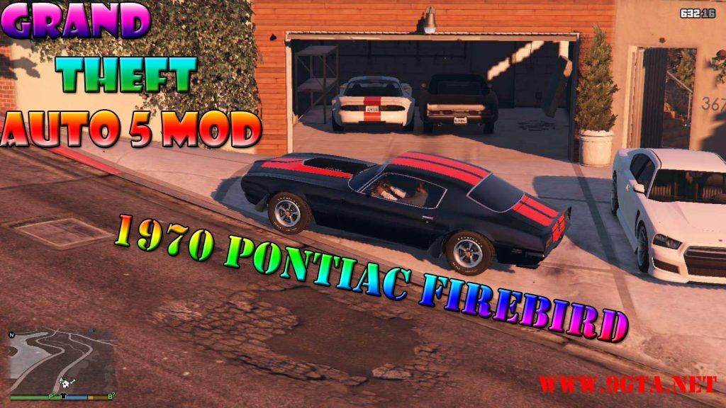 1970 Pontiac Firebird v1.0 Mod For GTA5