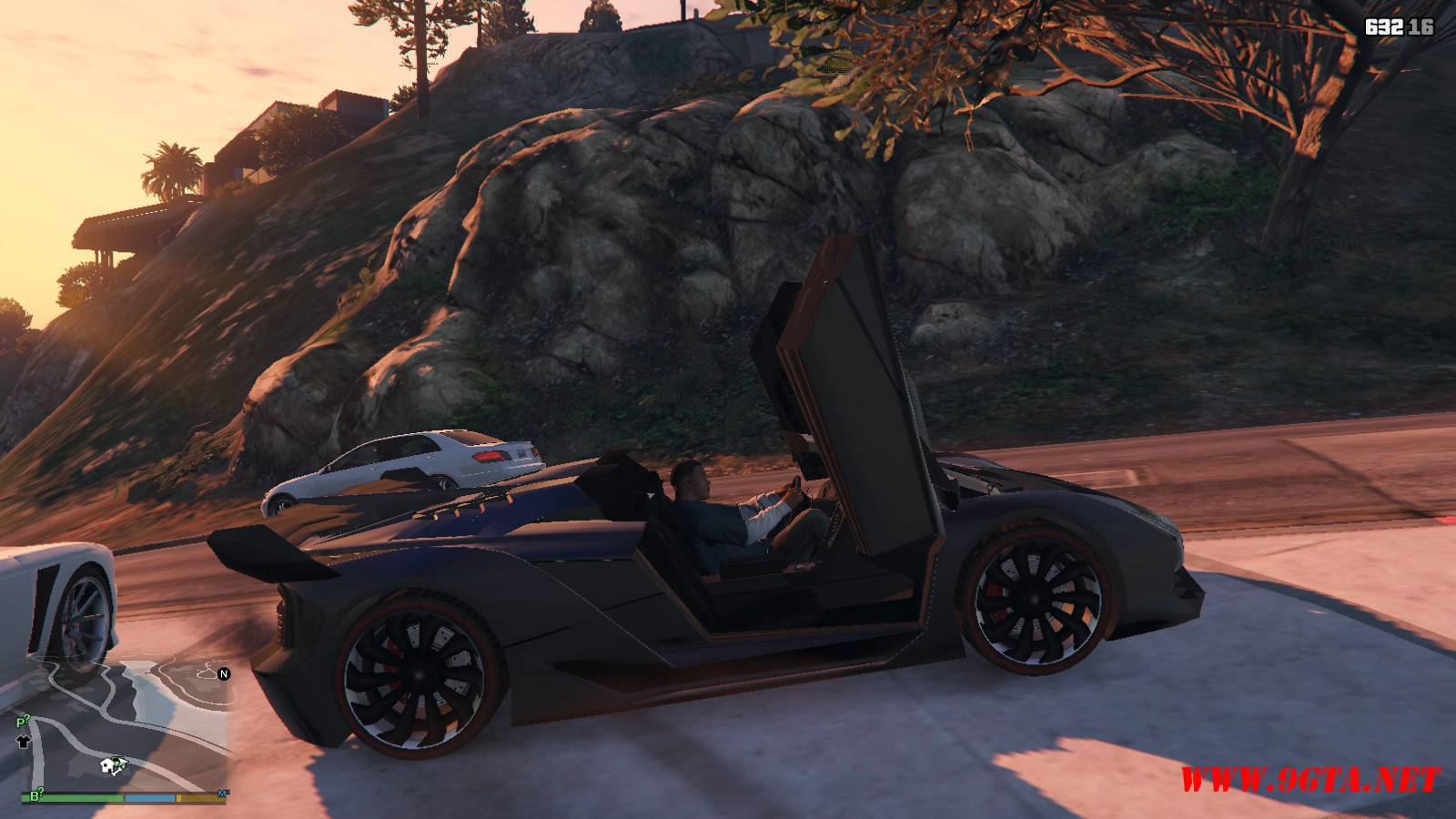 Pegassi Zentorno Roadster Mod For GTA5 (13)