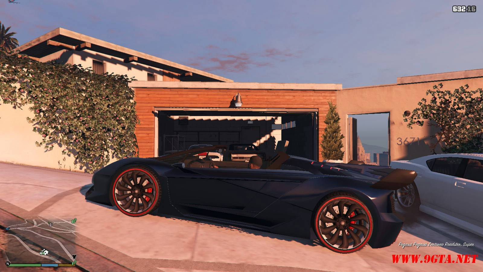 Pegassi Zentorno Roadster Mod For GTA5 (2)