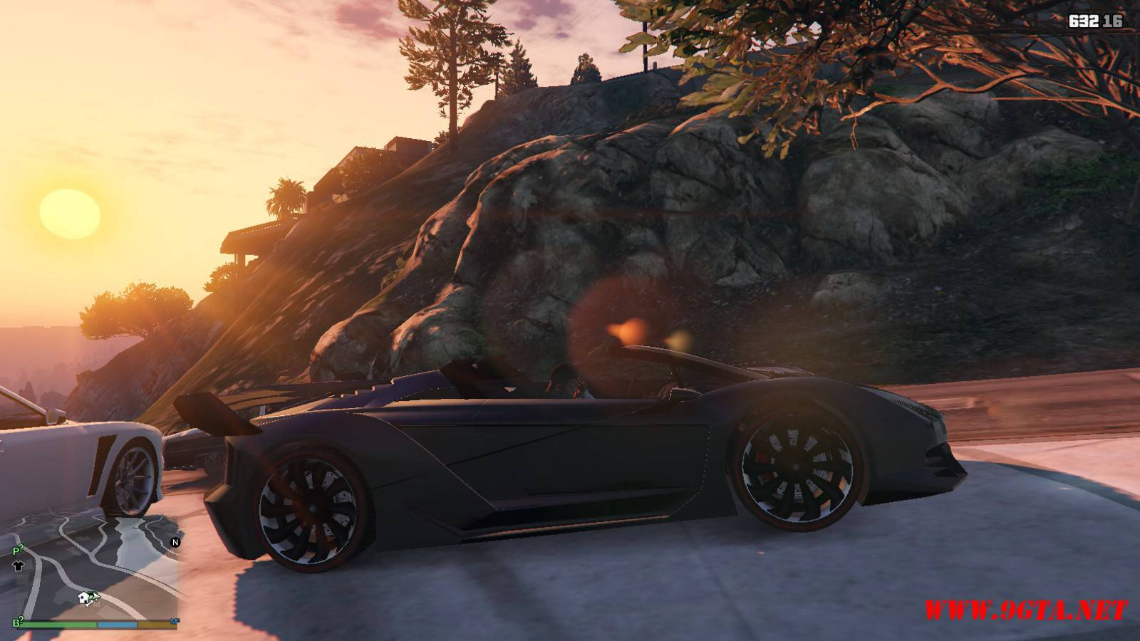 Pegassi Zentorno Roadster Mod For GTA5 (5)