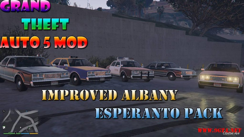 Improved Albany Esperanto Pack Mod For GTA5