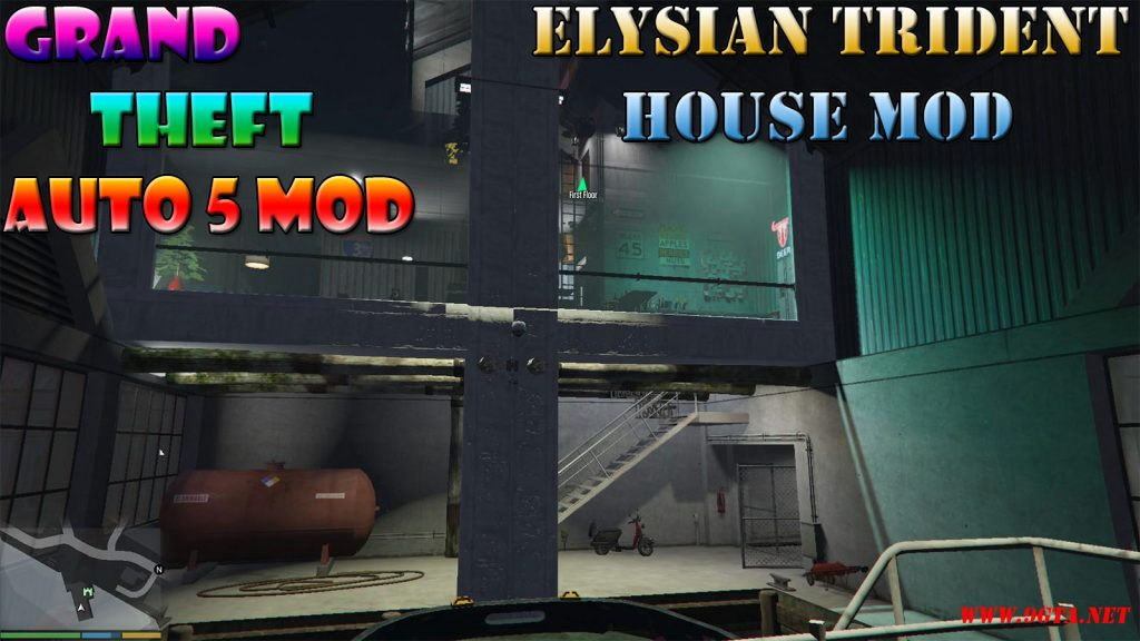 Elysian Trident House Mod For GTA5