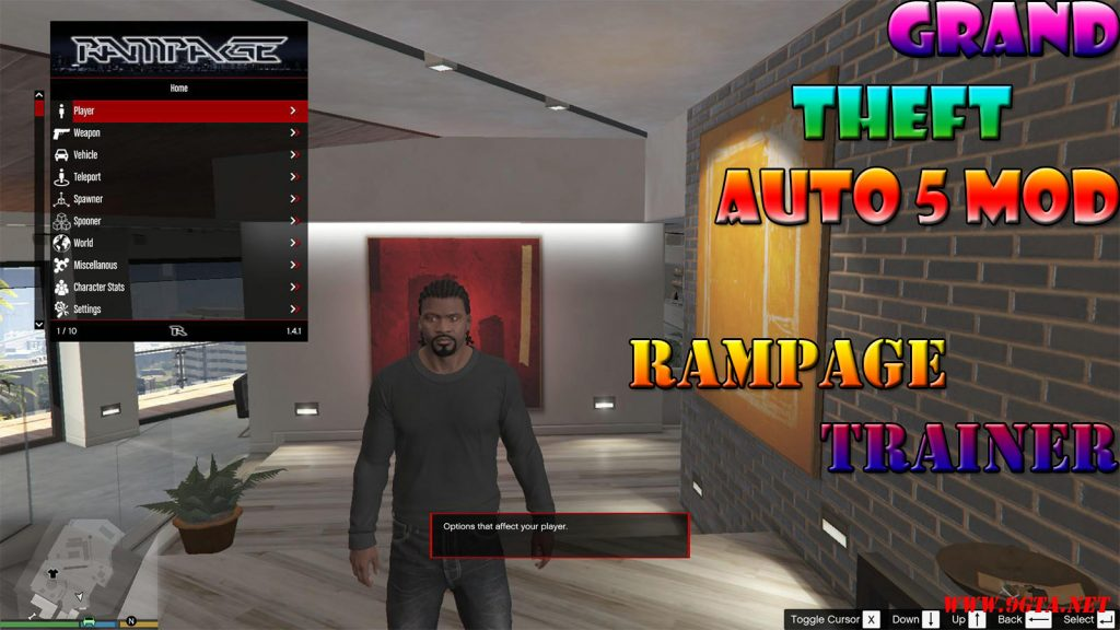 Rampage Trainer Mod For GTA5