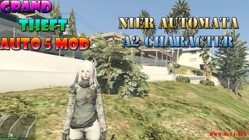 Nier Automata A2 Character Mod For GTA5