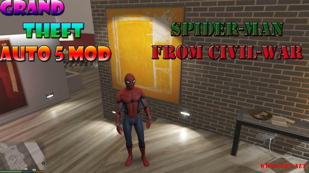 Spider-Man From CivilWar Mod For GTA5