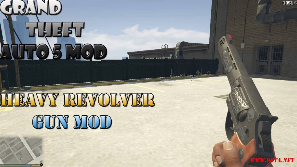 Heavy Revolver Gun Mod For GTA5