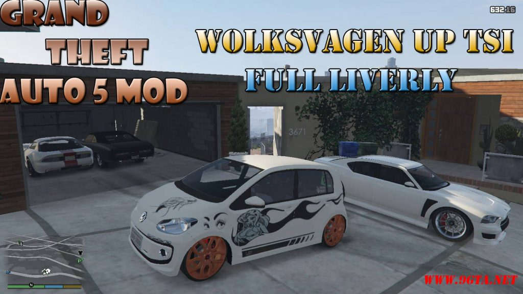 Wolkswagen UP TSI Car Mod For GTA5