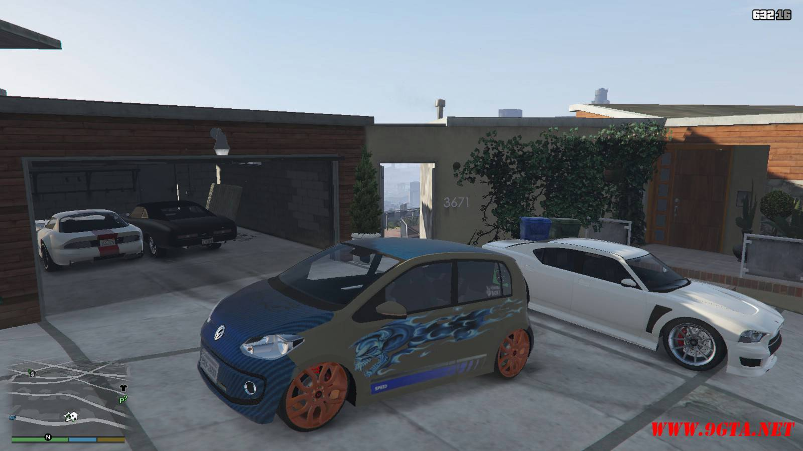Wolksvagen UP TSI Mod For GTA5 (1)