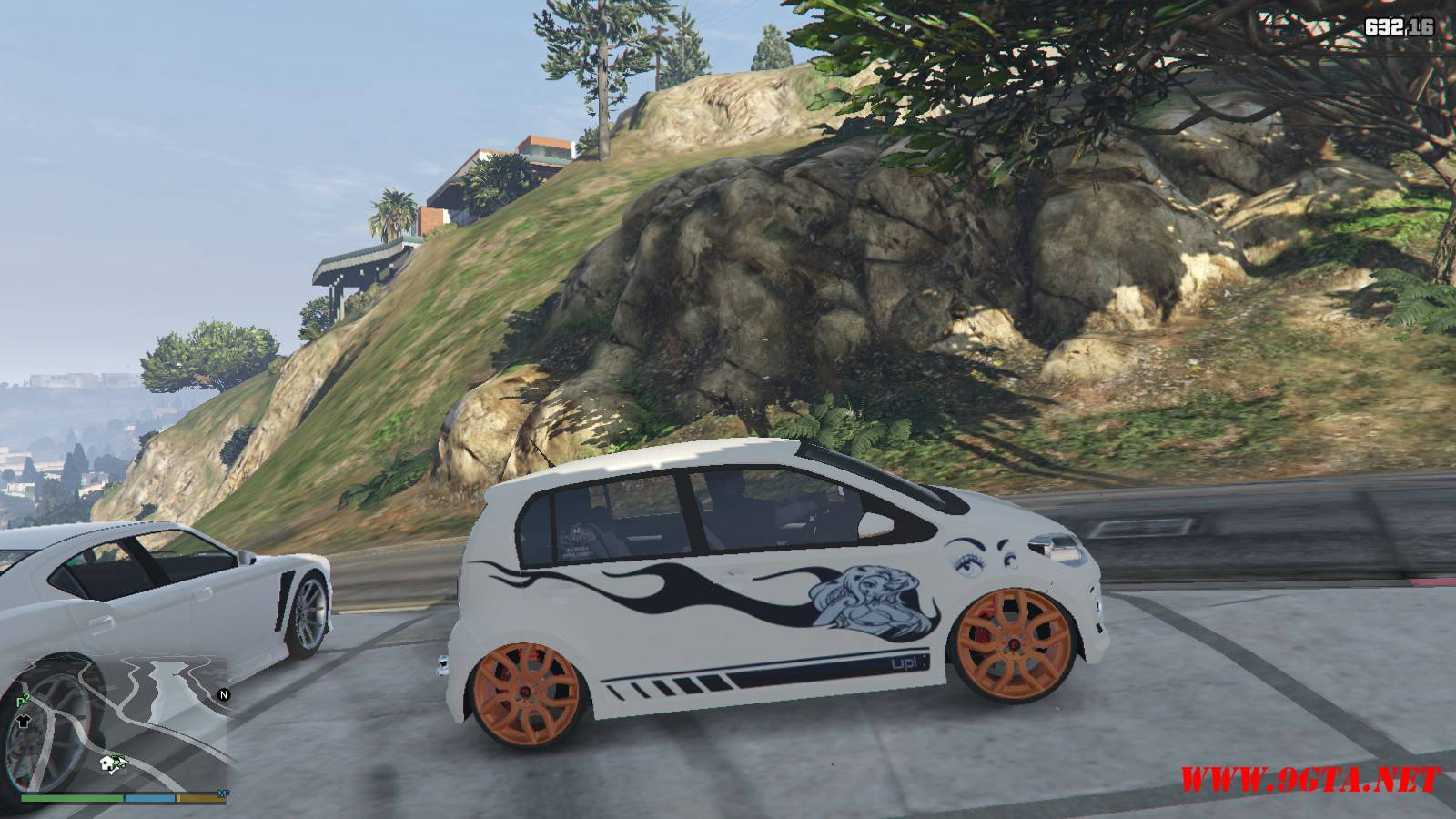 Wolksvagen UP TSI Mod For GTA5 (11)
