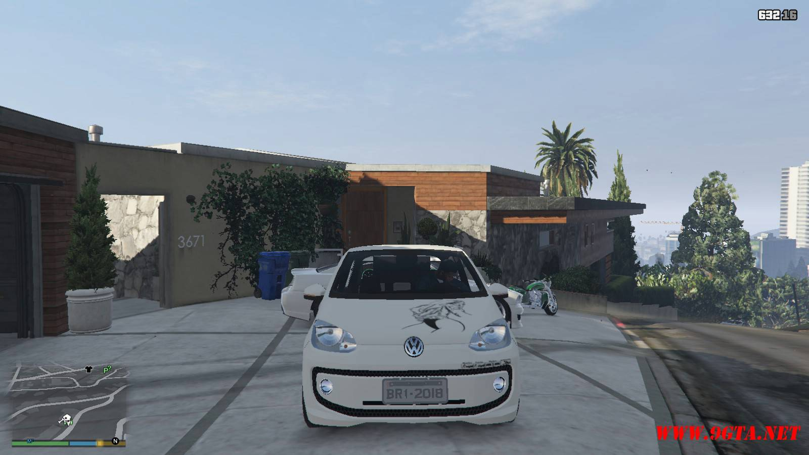 Wolksvagen UP TSI Mod For GTA5 (14)