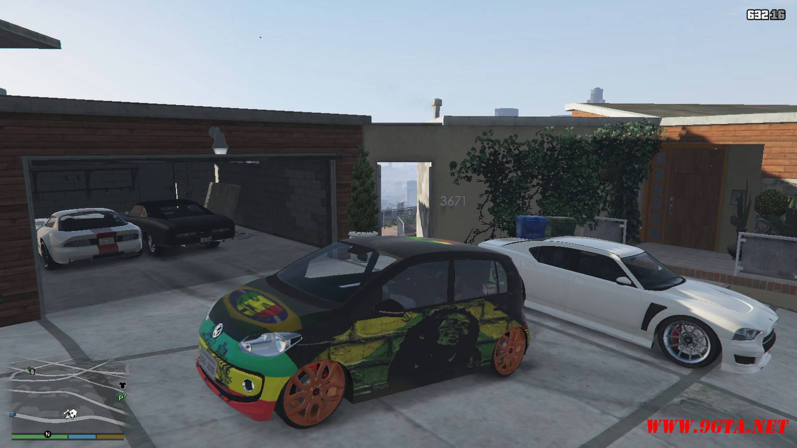 Wolksvagen UP TSI Mod For GTA5 (2)
