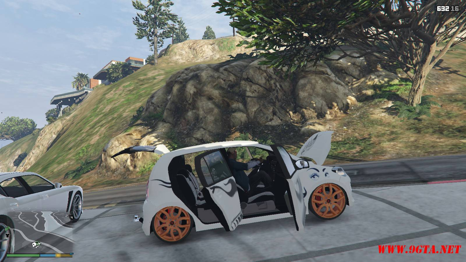 Wolksvagen UP TSI Mod For GTA5 (22)