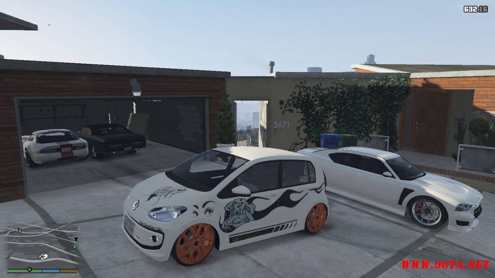 Wolksvagen UP TSI Mod For GTA5 (3)