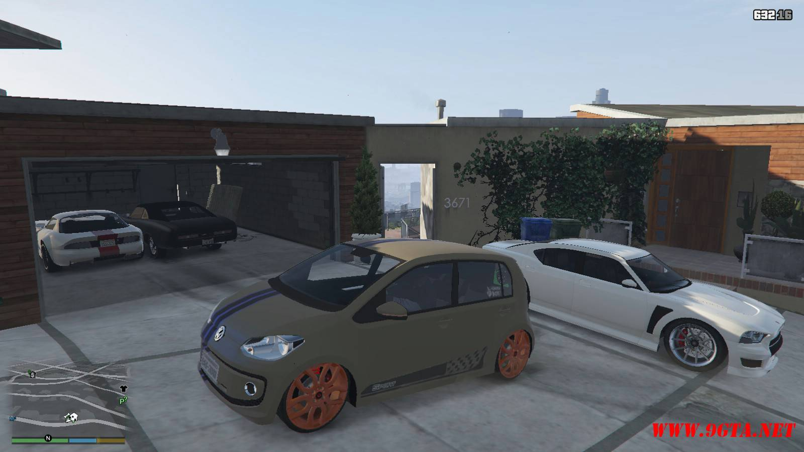 Wolksvagen UP TSI Mod For GTA5 (5)