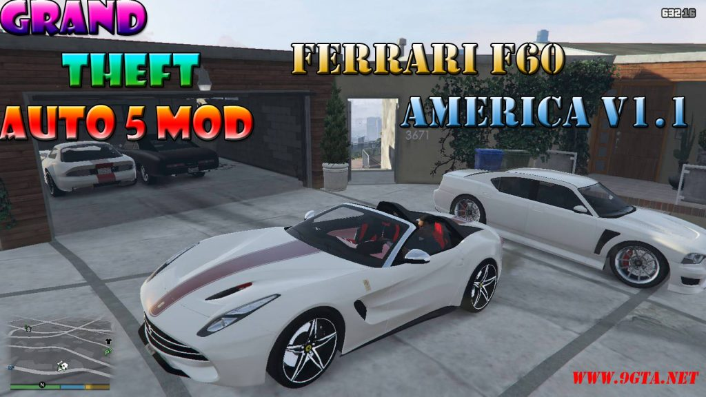 Ferrari F60 America v1.1 Mod For GTA5
